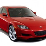The Mazda RX-8 with rotary engine.