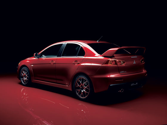 The Mitsubishi Evo X