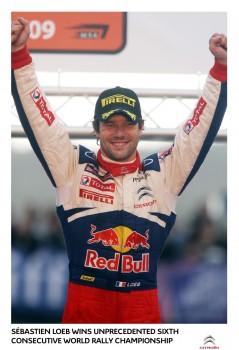 Sebastien Loeb Wins Sixth World Title