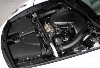 The engine of the Lexus LFA
