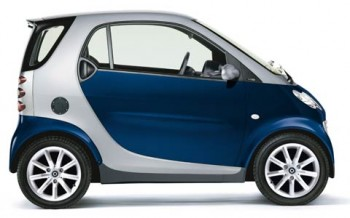 The Smart fortwo