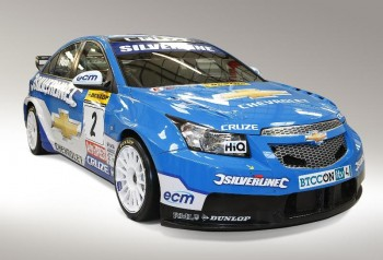 Silverline Chevrolet Cruze will be factory backed in the 2010 BTCC.