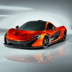 An early image of the McLaren P1.