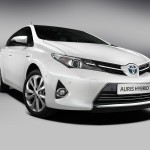 The new Toyota Yaris 2012.