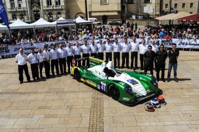 Caterham Le Mans 2013 team