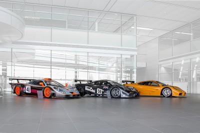 McLaren F1 cars