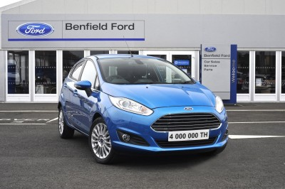 Four Millionth Ford Fiesta