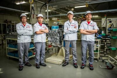 Nissan master craftsmen