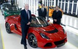 Vince Cable visits Lotus