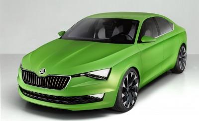 Skoda VisionC concept car