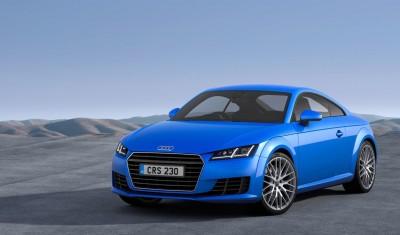 Audi TT new for 2014
