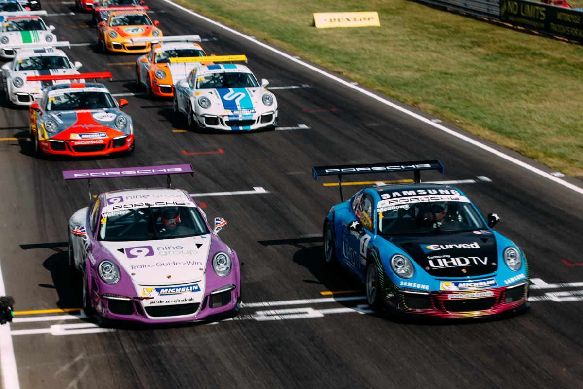 uk  porsche carrera cup dates and locations confirmed