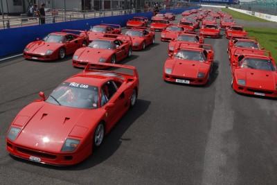 Ferrari F40 cars
