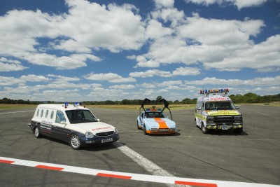 Top Gear ambulances