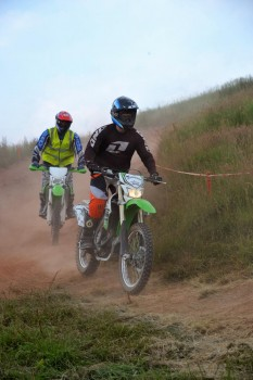 Motorcycle Off-Road Experience rider from 2014 event