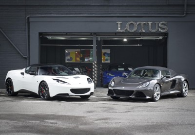 Hexagon brings Lotus cars to London