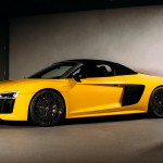 Audi R8 Spyder Zooms In To View