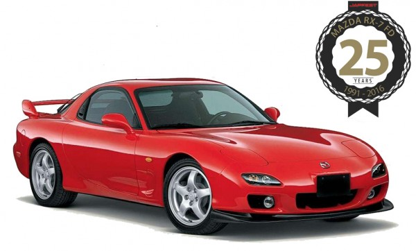 Mazda RX-7 FD - 25 years celebration