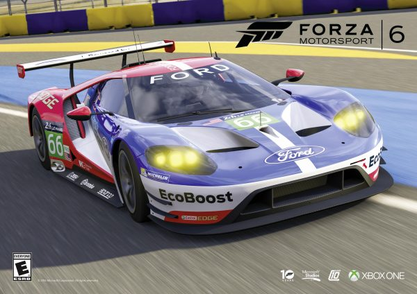 Ford GT Le Mans car