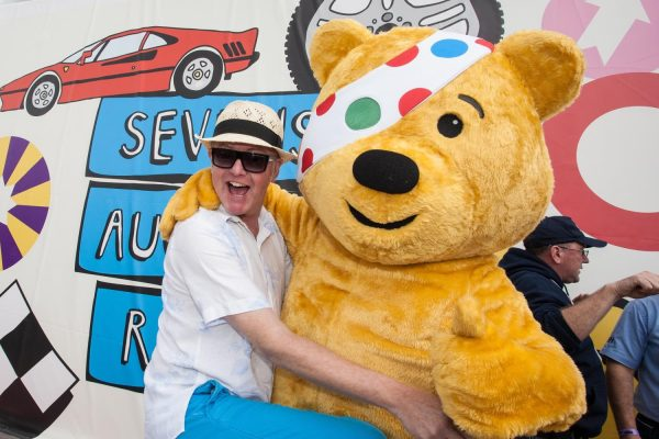 Chris Evans and Pudsey - raising funds for BBC Children in Need