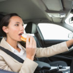 GEM Advice – Avoid Eating And Drinking At The Wheel…