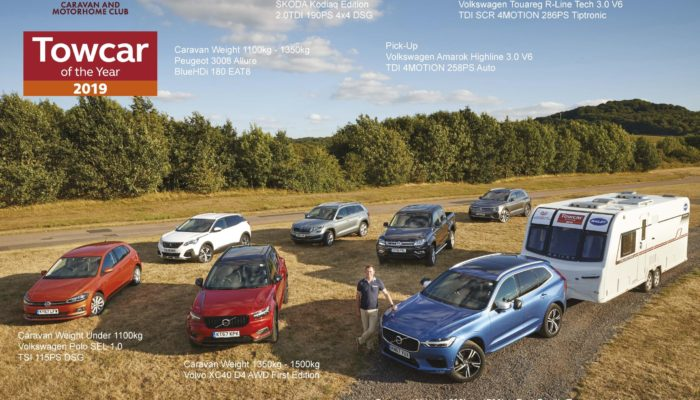 Volvo XC60 D5 PowerPulse AWD R-Design Takes Towcar 2019 Award