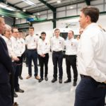 Prime Minister Opens Xtrac Factory