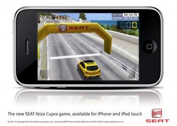 The SEAT Ibiza Cupra Game