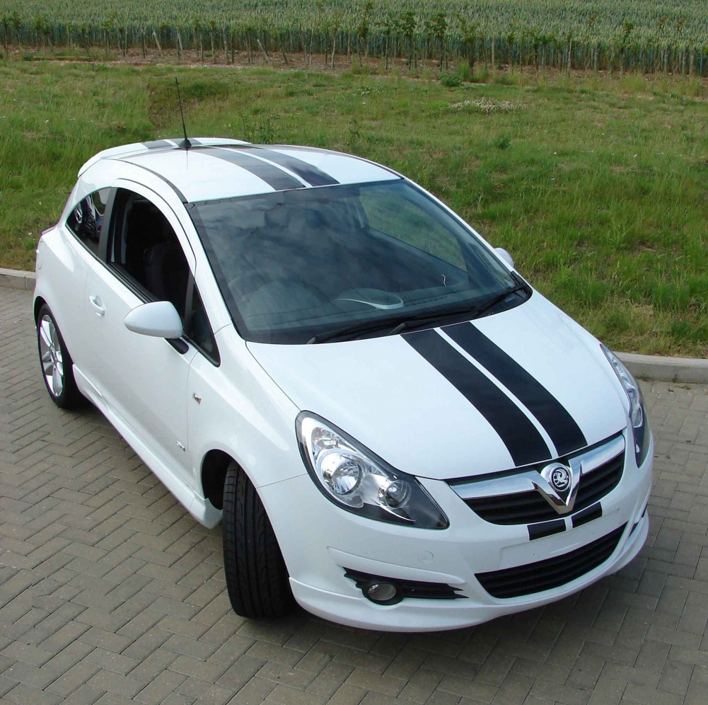 Racing Stripes For Your Vauxhall Corsa
