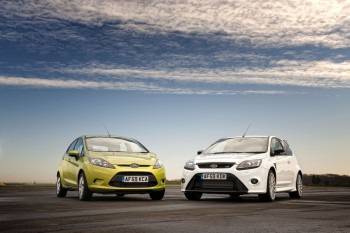 Ford Fiesta ECOnetic and Ford Focus RS