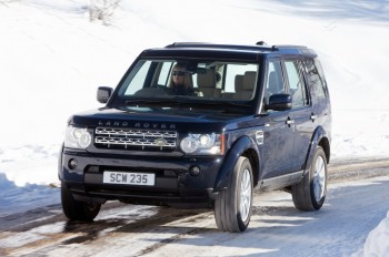 The Land Rover Discovery 4.