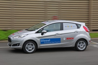 Eco challenge Ford Fiesta