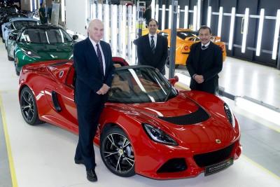 Vince Cable visits Lotus