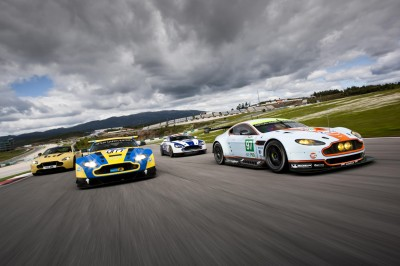 Aston Martin celebrates 10 years of racing