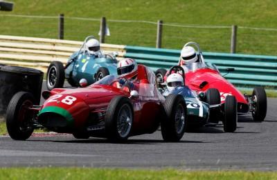 Racing at Croft Autodrome