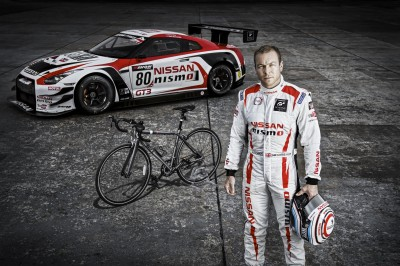 Sir Chris Hoy with Nissan