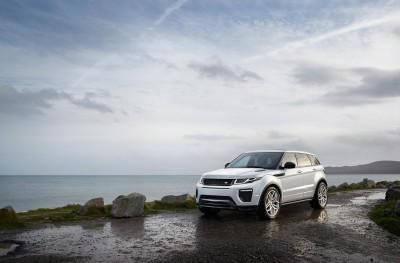 Range Rover Evoque 2016 model