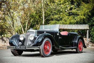 1937 Aston Martin 15 98 2L Long Chassis Tourer
