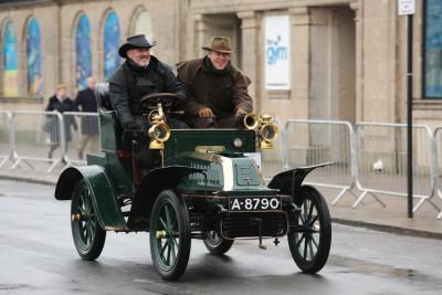 The 2014 Veteran Car Run