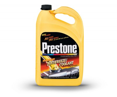Prestone Anti Freeze and Coolant